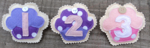 Birthday Badges 123