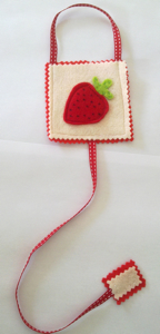 Hair Clasp Holders — Strawberry