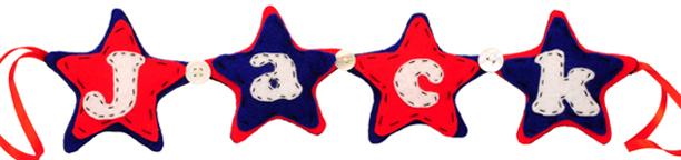 Star Name Banner — Jack