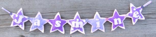 Star Name Banner — Jasmine