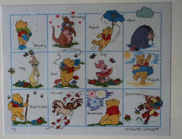 winnie the pooh calender