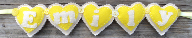cream yellow heart emily