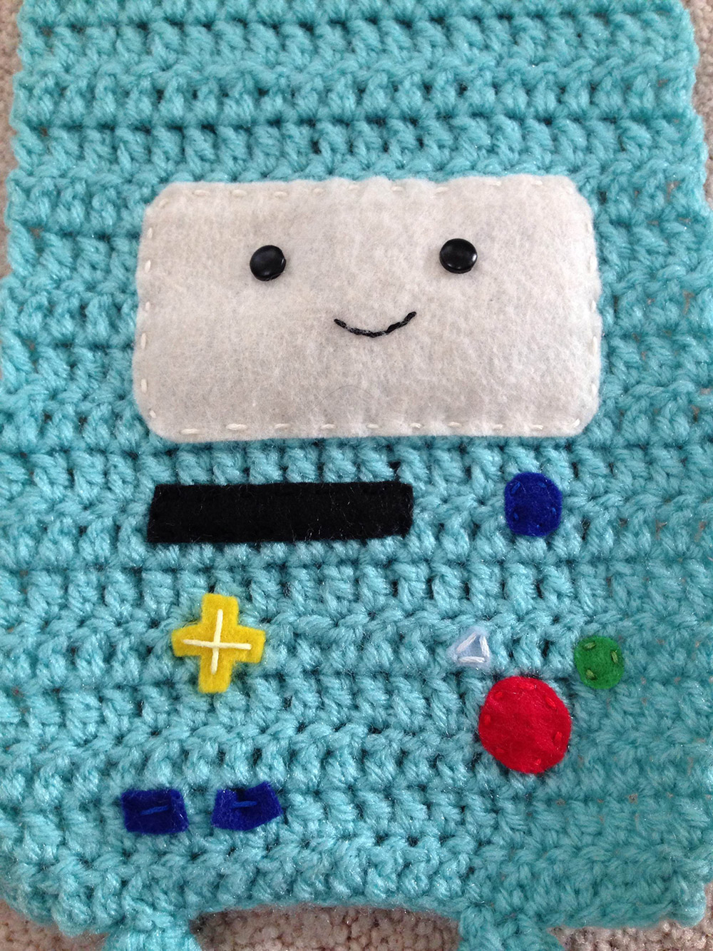 Close up of BMO scarf